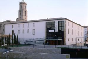 Vista exterior del Museu de l'Art de la Pell