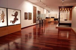 Vista d'una de les sales del museu