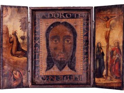 Tríptic Santa Faç, l'oració a l'hort i la crucifixió